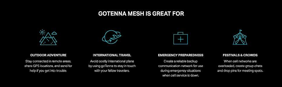 gotenna mesh off grid gps