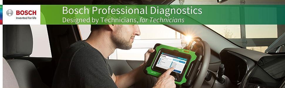 Bosch Diagnostic ADS 625 325 Scan Smoke Analyzer VCI Scope Meter Professional