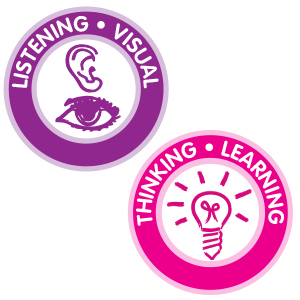 listening, visual, thinking, learning, develop, development, for teachers, for therapist, for parent