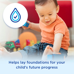 Helps lay foundations for your child's future progress
