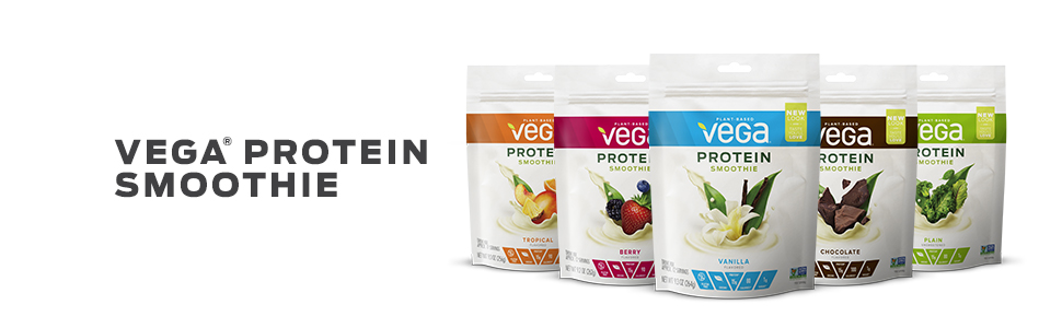 Vega Protein Smoothie - tastier than Orgain, Garden of Life, Olly, and Optimum Nutrition