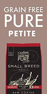small breed dry dog food grain free limited ingredient