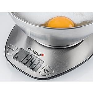 Korona Mila Balance de cuisine numérique en acier inoxydable