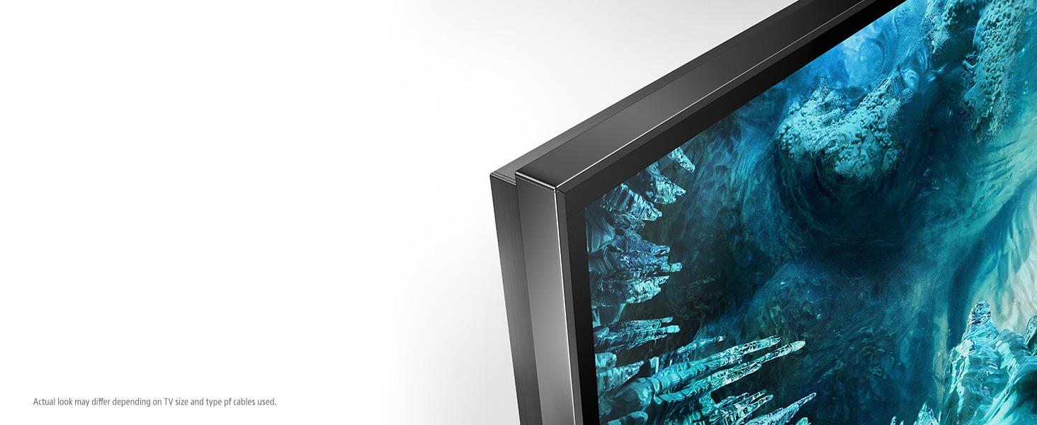 Big 8K screen, distraction free.