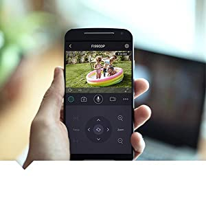 FI9900P Преглед на приложението