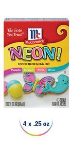 Amazon.com: McCormick Assorted Food Color, 1 fl oz: Prime Pantry