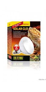 solarglo;exoterra:iluminacion;reptil