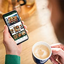 Be inspired with Philips NutriU App