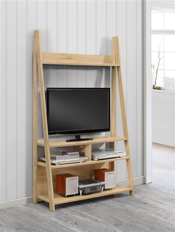 Birlea Nordic Corner Bookcase, Wood, White: Amazon.co.uk