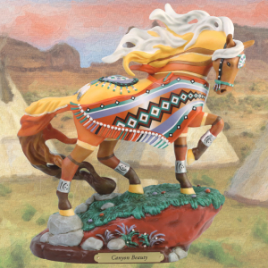 Trail of Painted Ponies Stone Resin Material