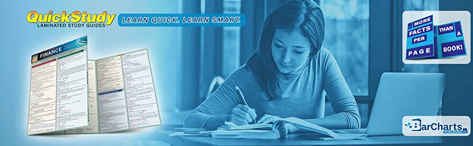 Quick Study QuickStudy Finance Equations & Answers Laminated Study Guide BarCharts Publishing Inc