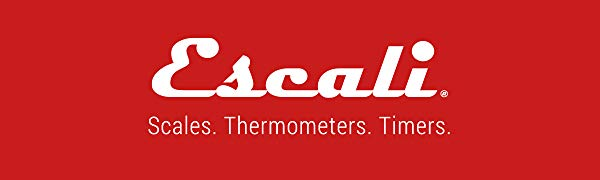Escali. Scales. Thermometers. Timers.