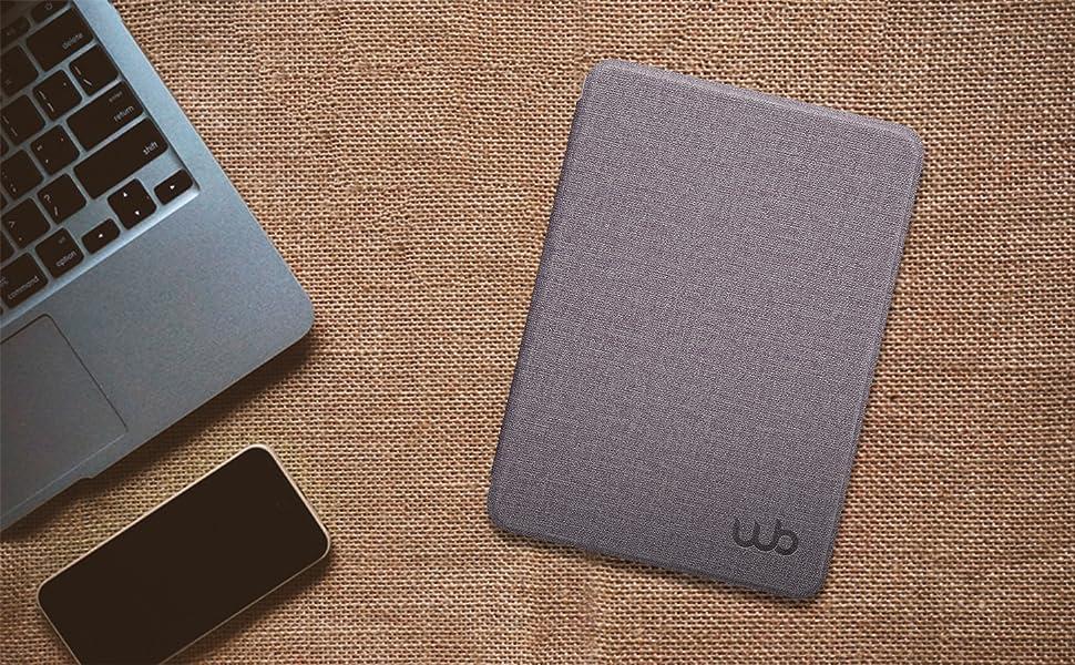 Capa Kindle 10a. Geração WB Ultra Leve Estilo Tecido Lilás
