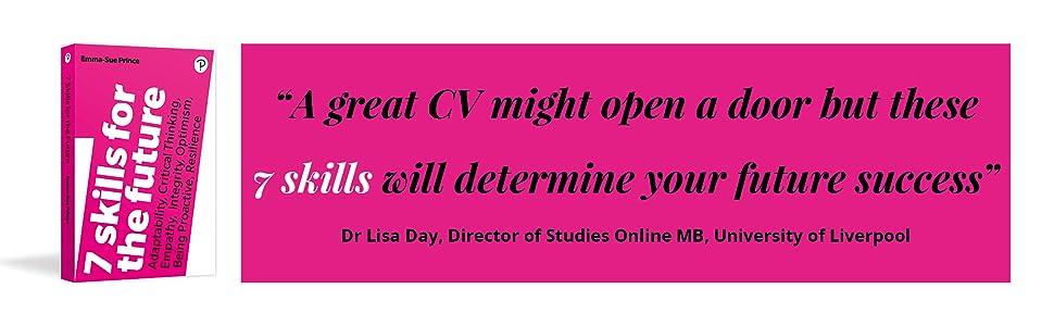 7 skills for the future cv writing success future new job career
