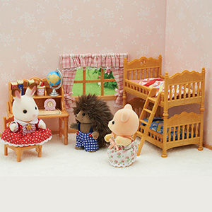 critter, figures, dolls, dollhouse furniture, collectible, lil woodzeez, small furniture, doll house