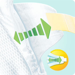 Pampers Baby Dry Tapes Nappies