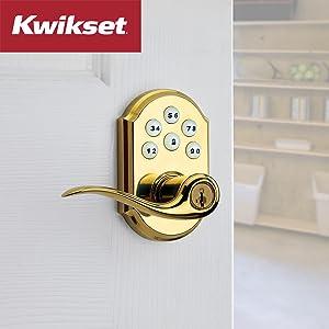 kwikset, deadbolt, tustin, lever, electronic lock, smartkey