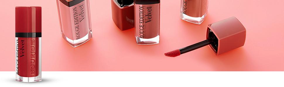 bourjois; color; barra de labios; labial; labial liquido; mate; larga duración; rouge edition velvet