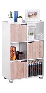FineBuy Standregal FB10241 Holz 30x60x30 cm Modern Regal