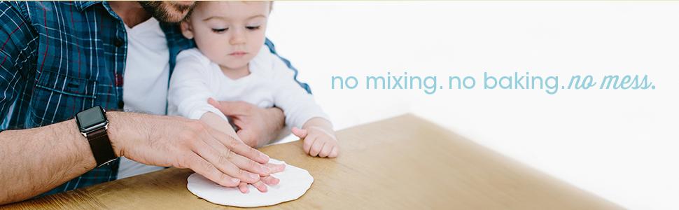 Amazon Com Pearhead Newborn Baby Handprint And Footprint