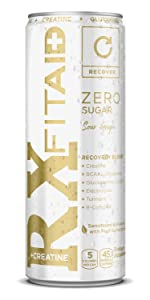 FIT AID ZERO WORKOUT Creatine DRINK ENERGY MOVE ACTIVE KETO