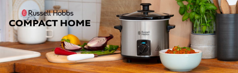 Russell Hobbs 25570-56, Compact Home Slowcooker 1.5 Liter