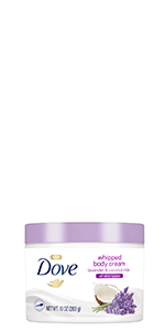 Dove Lavender and Coconut Milk Body Polish