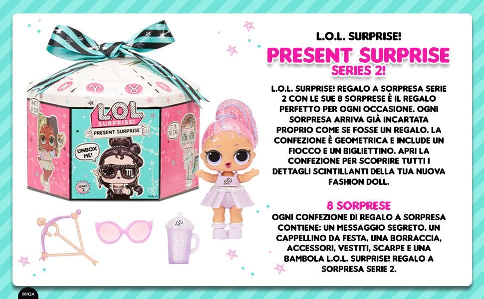 LOL Surprise Present Surprise Series 2