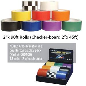 Orange 2 x 90 Roll Design Engineering 060108 Speed Tape