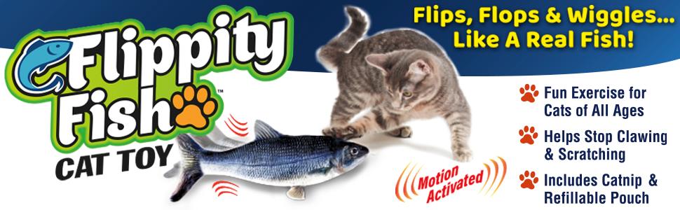 Flippity Fish Cat Toy header