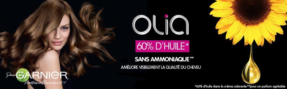 Garnier - Olia - Coloration Permanente à lHuile Sans Ammoniaque Blond - 10.0 Blond Très Clair