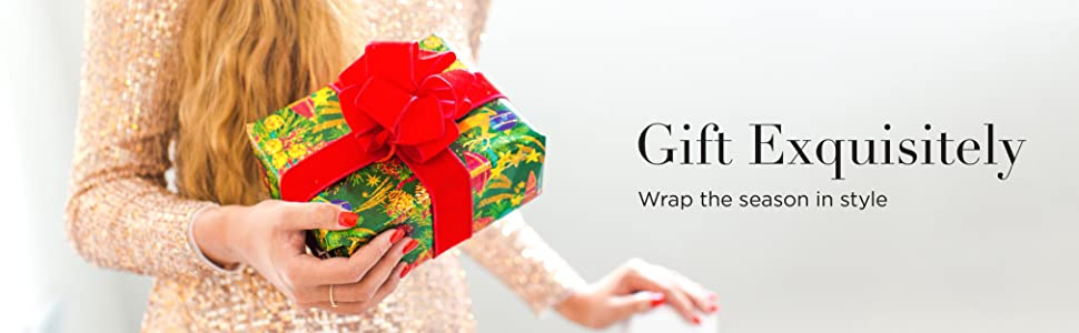 gift exquisitely wrap the season in style papyrus wrapping paper
