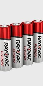 Fusion AA batteries