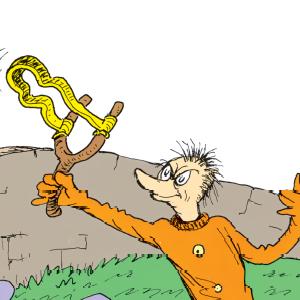 ilustração laranjinho