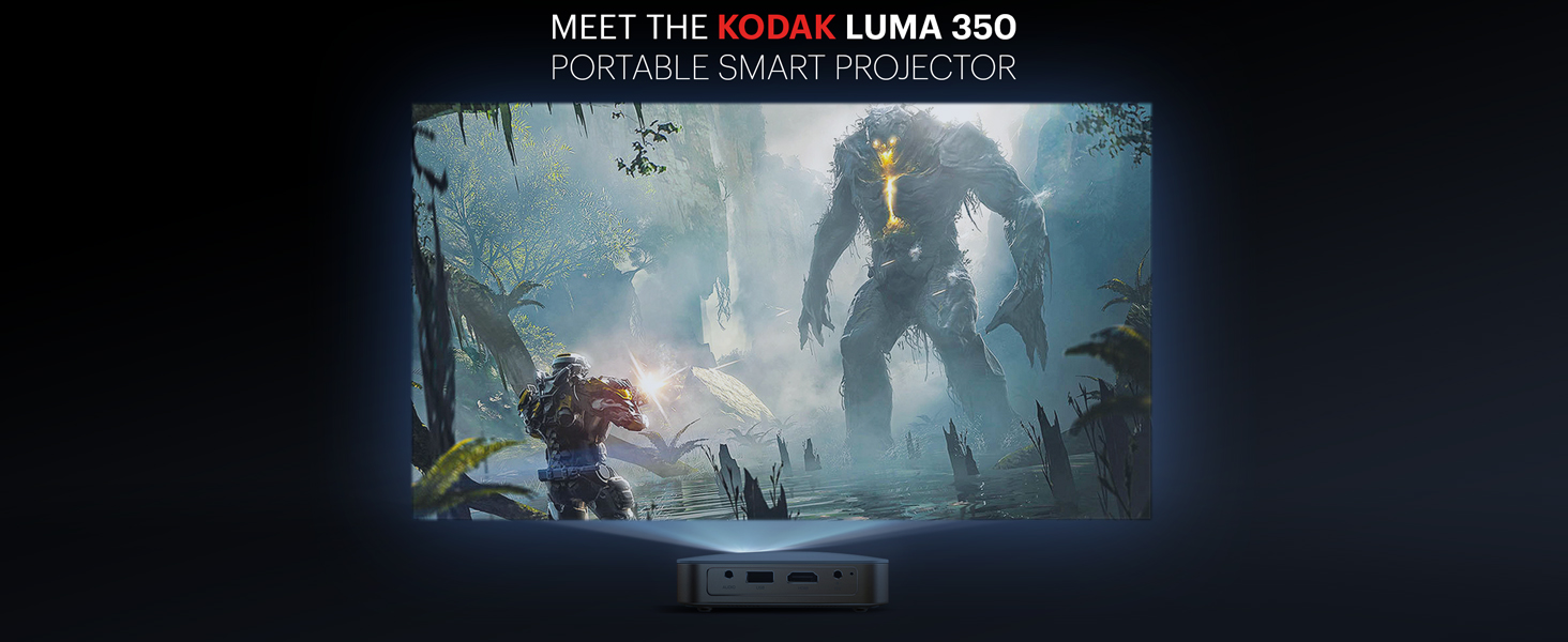 kodak luma 350 projector video