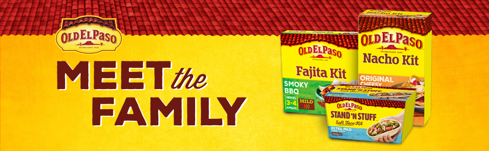 Old El Paso Meet The Family Kit Banner