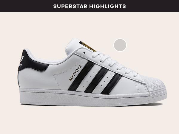 Women's Adidas Superstar 2.5 Trainer White Black Gold size 8