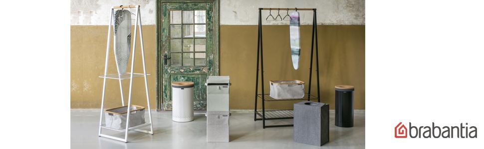 linn racks; brabantia laundry basket; brabantia hampers; brabantia iron boards; ironing boards;