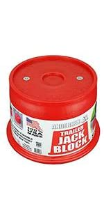 Trailer Jack Block with Magnets