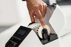 10 Etiketten kompatibel mit Brother DK-22225 P-Touch QL1050 QL1060N QL500 QL550