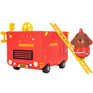 HEY DUGGEE RESCUE VEHICLE WITH RESCUE BADGE