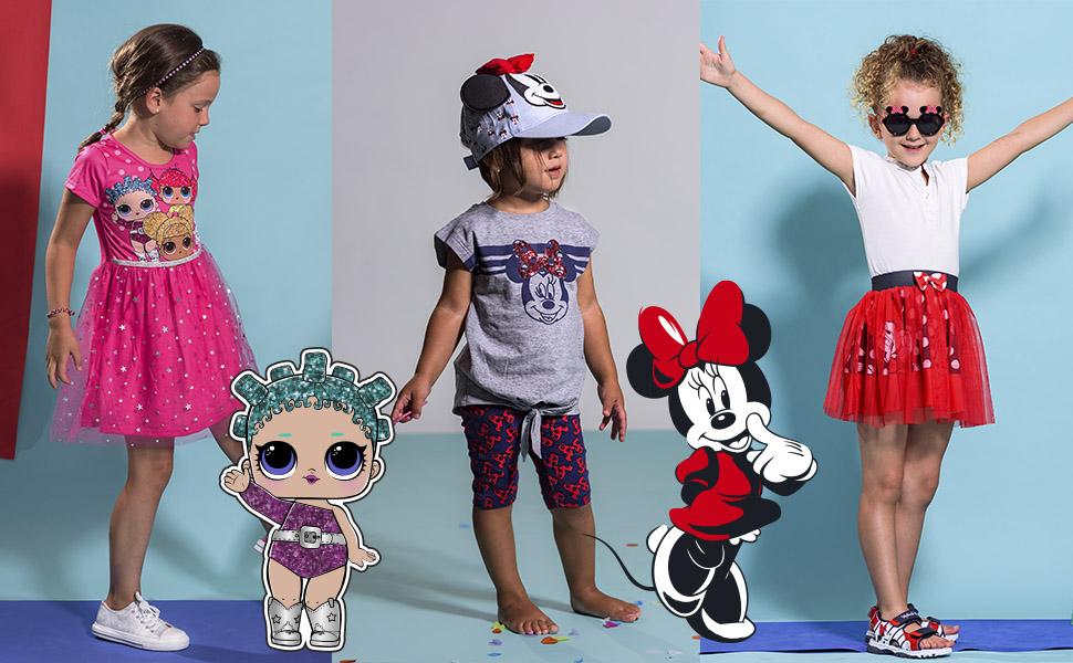 Cerdá Falda de Tul con Tutu de Minnie Mouse Disney para Niña Niñas ...