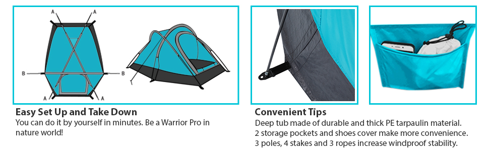 Backpacking light tent,portable outdoor camping, 2 person tent, instant up tents for camping, tent
