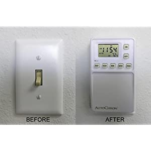 Amazoncom SWE 82000 Wall Switch Timer Home Kitchen