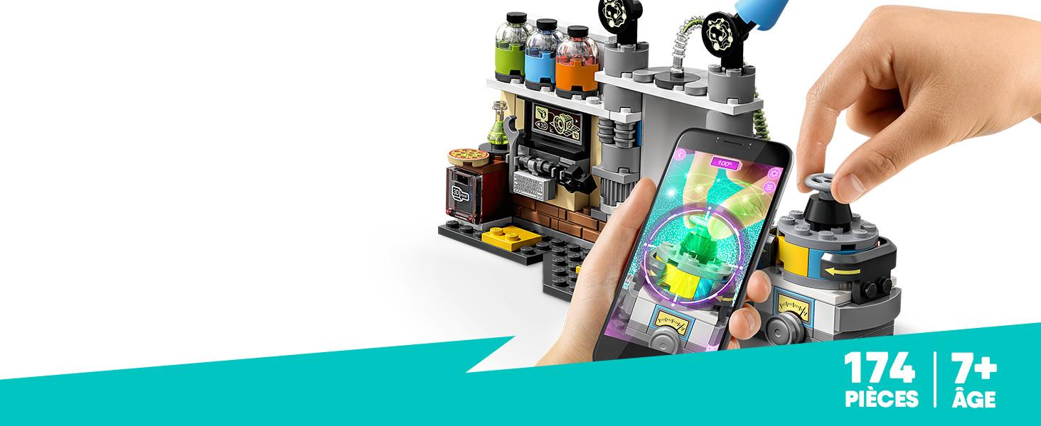 LEGO®-Hidden Side Le laboratoire détecteur de fantômes Jeu