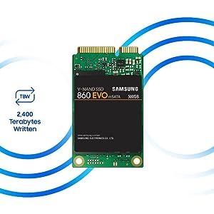 Samsung Solid State Drive MZM6E1T0BW 860 EVO 1TB mSATA Internal SSD
