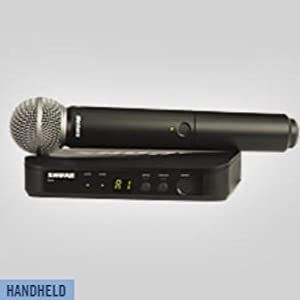BLX24/SM58 Handheld Wireless System