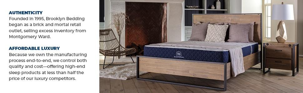Bed in a Box; Brooklyn Signature Mattress