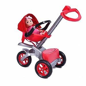 Amazon.com: Juego de cochecito Bye Bye Baby Doll para ...