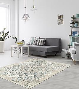 amazon com persian area rugs 4620 cream 8x10 area rugs 8 x 11